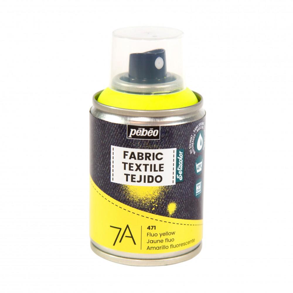 couleur pour textile fluorescent pébéo 100 ml
