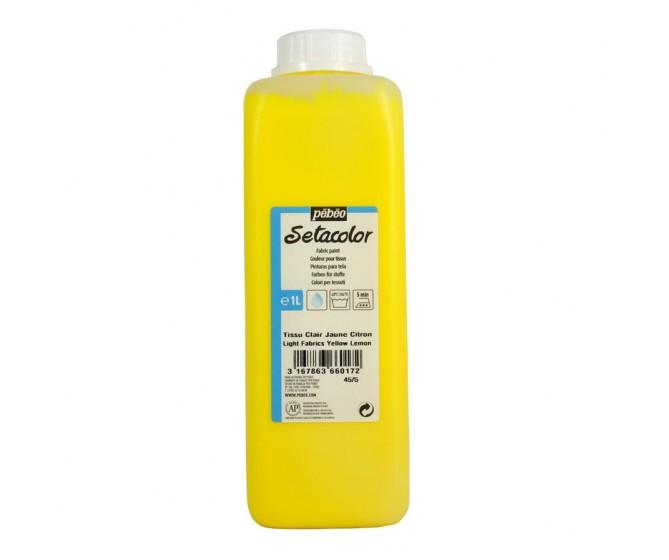 peinture tissus sétacolor tissus clairs pébéo 1000 ml