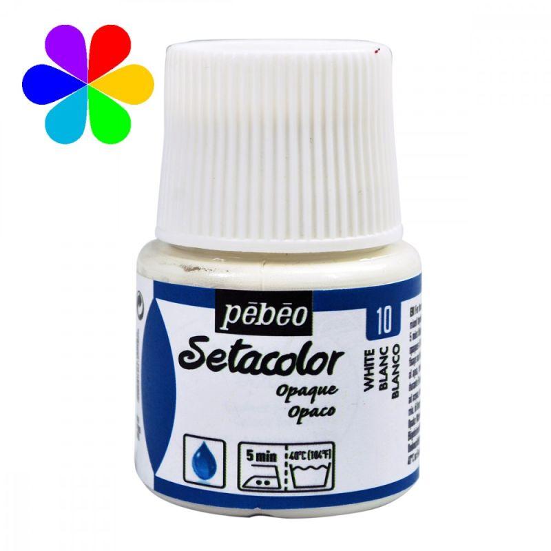 peinture tissus sétacolor opaque pébéo 45 ml