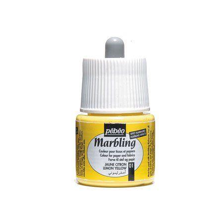 peinture tissus marbling pébéo 45 ml