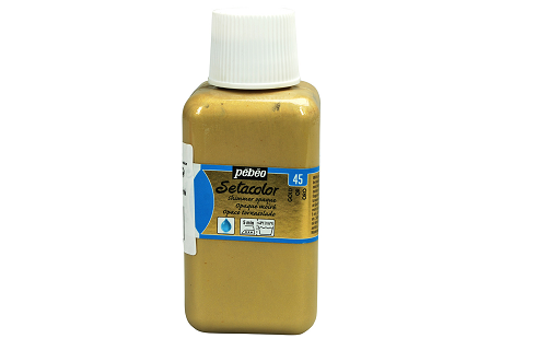 peinture tissus sétacolor opaque moiré pébéo 250 ml