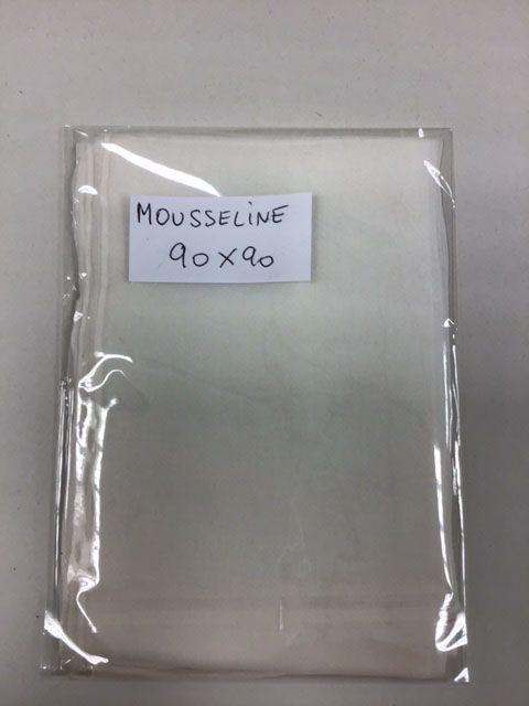 Carré RM 90 x 90 cm M 04 Mousseline