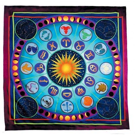 Zodiac carré 90x90 cm pongée N°9