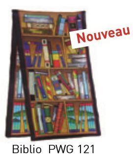 Biblio pashmina 180 x 43 cm pongée N°9