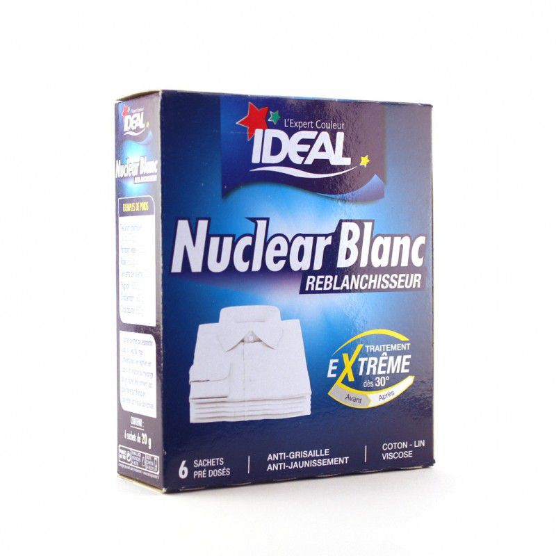 nuclear blanc reblanchisseur ideal