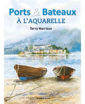 Port et bateaux à l'aquarelle