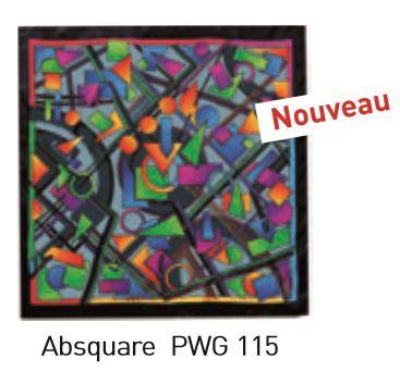 Absquare carré 90x90 cm pongée N°9