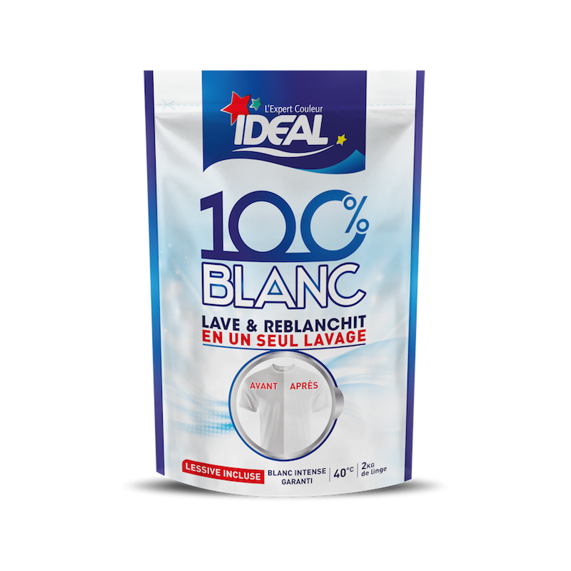 reblanchisseur 100 % blanc ideal